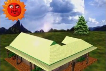 Sun on Roof Animation