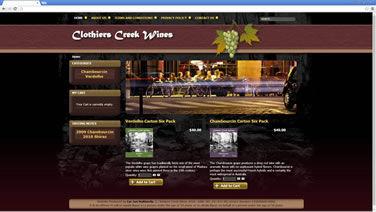 Clothiers Creek Wines